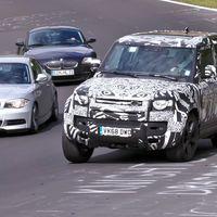 El Land Rover Defender V8 será el Defender más rápido de la historia con más de 500 CV, y ya está rodando en Nürburgring