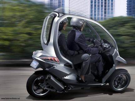 Peugeot HYmotion3 Compressor