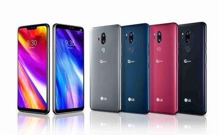LG G7 ThinQ: llamativo diseño, ahora con notch, y doble cámara con inteligencia artificial para competir en la gama alta