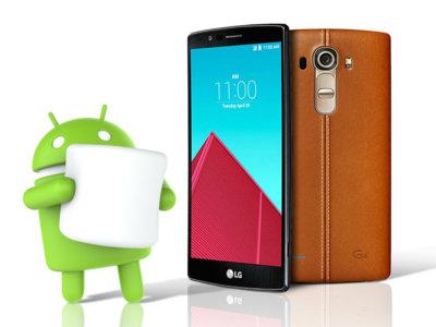 El LG G4 empieza a actualizarse a Android 6.0 Marshmallow en España