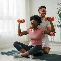 Tres consejos para usar las cargas bajas al entrenar en casa