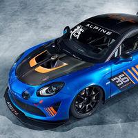 La segunda versión de carreras del Alpine A110 es un GT4, aún más potente y radical