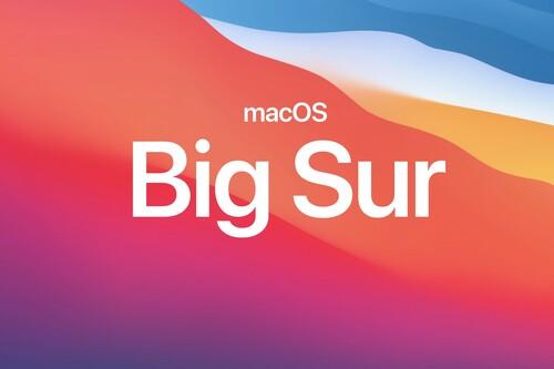 Apple lanza macOS Big Sur: rediseño de interfaz, nuevo centro de control y de notificaciones, mejoras en Safari y Mensajes y más