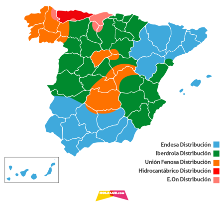Mapa Distribuidoras