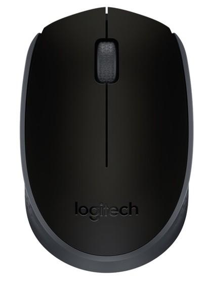 Ratón inalámbrico Logitech M171 Negro
