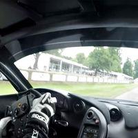Así de brutal es el récord de Goodwood visto desde el asiento del piloto del McLaren P1 LM