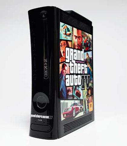 Xbox 360 se viste de 'GTA IV'