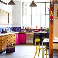 Puertas abiertas: una cocina ecléctica