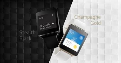 LG revela más información sobre el G Watch: Pantalla siempre encendida y protección contra agua y polvo