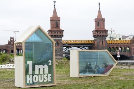 Una casa con un metro cuadrado de superficie