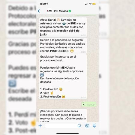 """El INE tendrá bot en WhatsApp para la elección del 6 de junio en México: """"Inés"""" informará sobre casillas y hasta delitos electorales"""