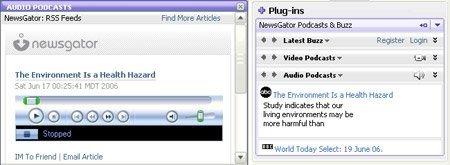 Newsgator y Yahoo! Messenger 8, grandes amigos