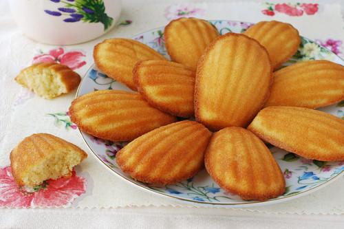 Receta de madeleines de almendra, el delicioso dulce clásico francés