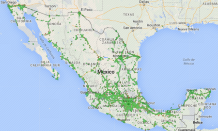 Redes 2G y 3G de Movistar en México