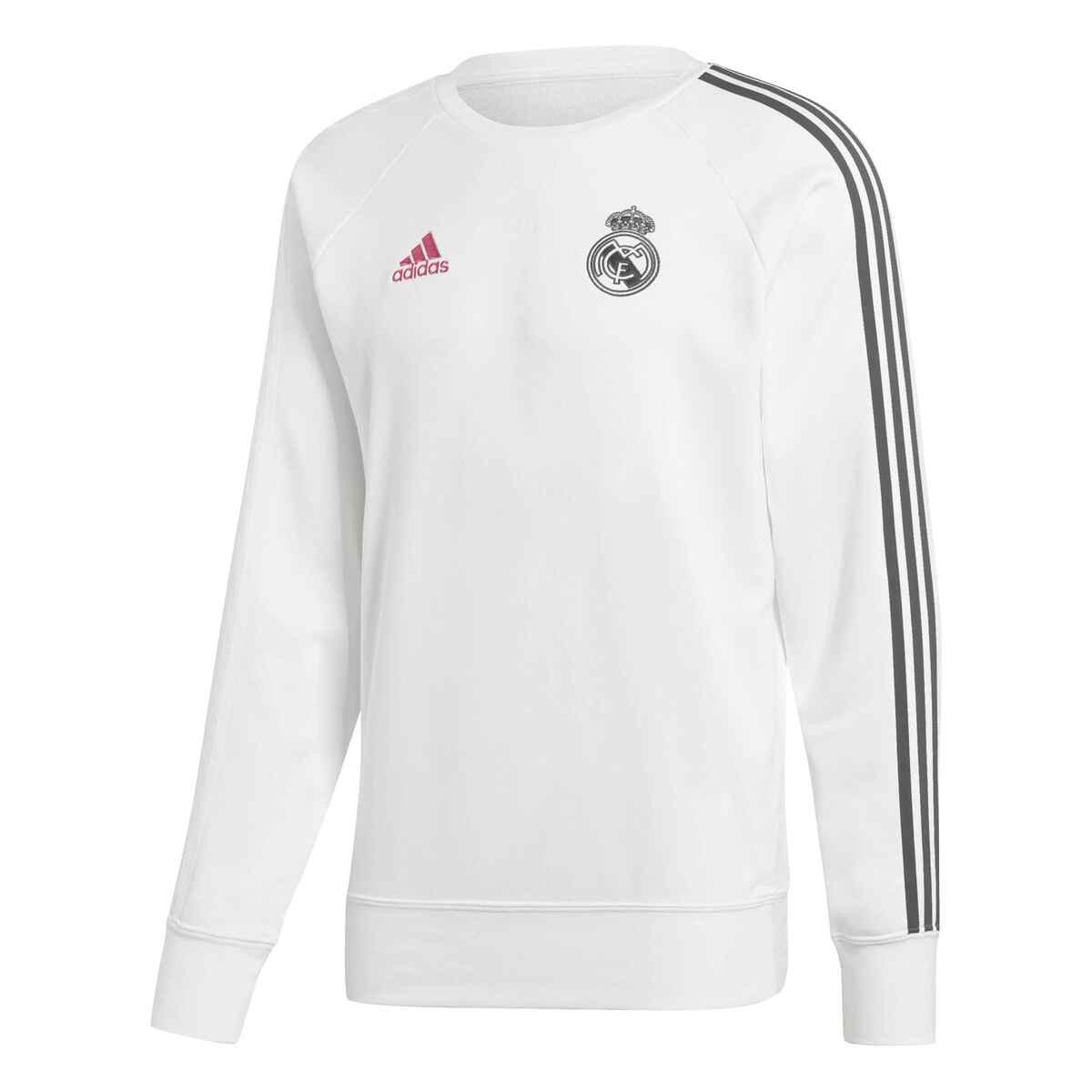 Sudadera blnca para hombre Real Madrid CF 2020-2021 adidas