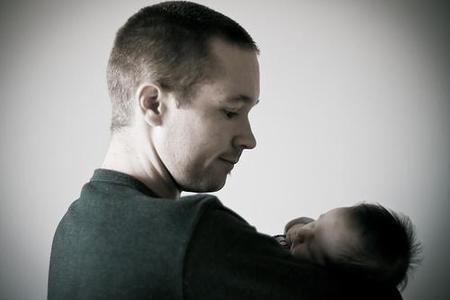 Regalo del Día del Padre: una sesión de fotos con el bebé
