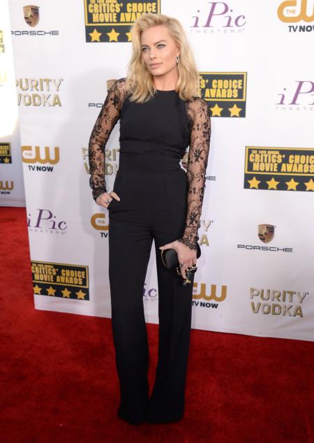 Margot Robbie Critics Choice Awards 2014