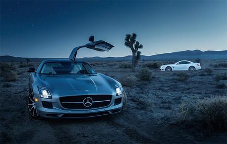 Mercedes-Benz SLS y SL por Richard Thompson