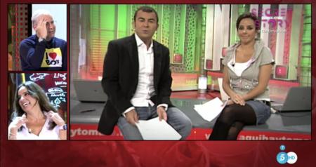 Carmen Alcayde y Jorge Javier Vázquez vuelven a trabajar juntos 13 años después del final de 'Aquí hay tomate'