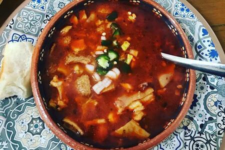 Menudo norteño de Coahuila. Receta de la cocina tradicional mexicana