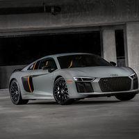 El Audi R8 V10 Plus tendrá rayos láser. Por fin un superdeportivo como lo imaginamos cuando teníamos 6 años
