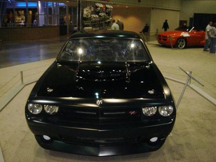 Dodge Challenger Super Stock Black