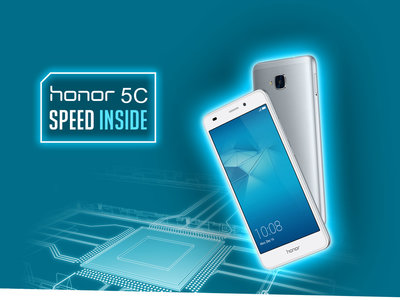 Huawei Honor 5C, con 2 años de garantía en nuestro país, por sólo 99 euros y envío gratis