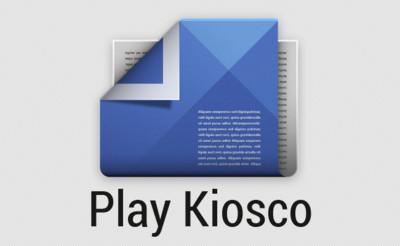 Google Play Kiosco para Android se rediseña con Material Design [APK]