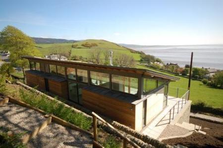 The Deepstone House, el pabellón acristalado de mis sueños. Casa de lujo en Escocia