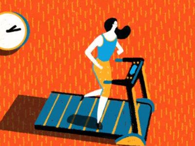 El siniestro origen de la cinta de correr