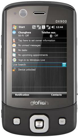 E-ten Glofiish: nuevos móviles de la gama