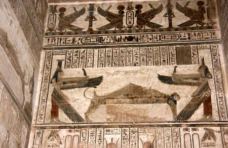 Templo funerario en Dendera