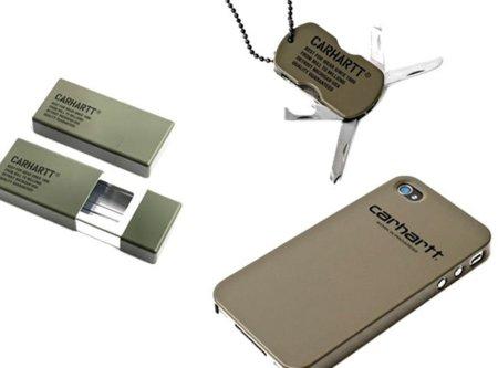 Carhartt presenta una colección de gadgets de estética militar