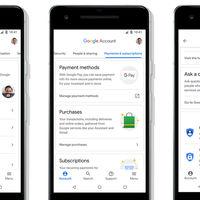 La nueva Cuenta de Google se rediseña y añade una sección de ayuda