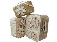 Preciosas maletas para guardar las cositas del bebé