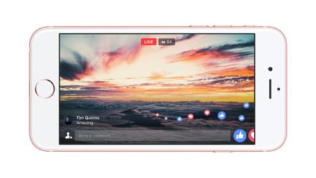 Transmisiones más largas y pantalla completa: estos son los cambios en Facebook Live