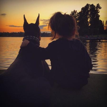Cutie And The Beast Dog Girl Seana Doberman 27