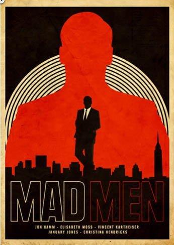 Pósters inspirados en 'Mad Men', la imagen de la semana