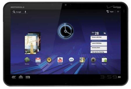 Motorola Xoom en España este mismo mes por 579 euros
