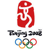 Ratones blancos controlando la alimentación de los atletas en los Juegos Olímpicos de Pekín 2008