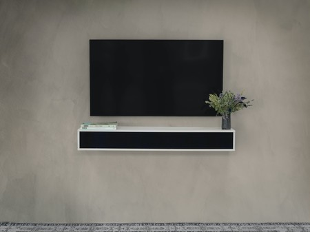 Esta barra de sonido de Lemus ofrece soporte para audio Hi-Res y además puede integrarse en el mobiliario del hogar
