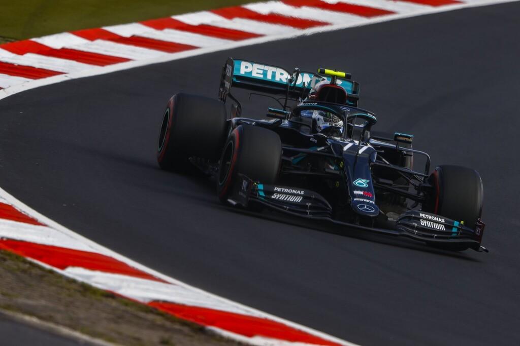 Valtteri Bottas vuela en Nürburgring para frenar a Max Verstappen y cortar la racha de poles de Lewis Hamilton