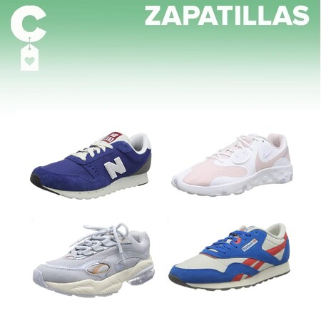 Chollos en tallas sueltas de zapatillas Reebok, Under Armour, Nike o New Balance en Amazon