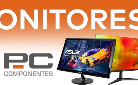 AOC, Lenovo, LG o Philips: 11 monitores en oferta esta semana en PcComponentes