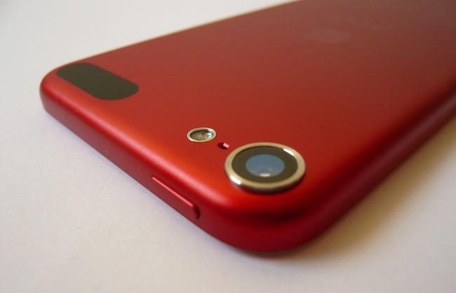 iPad touch 2012 cámara fotos botón superior