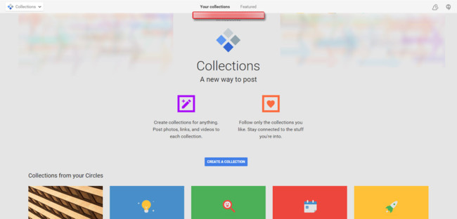 Google Plus Collections11