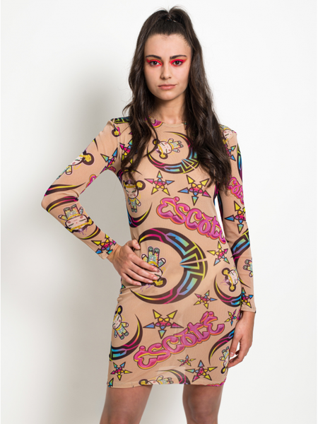 Pucca Mistica Stretch Dress maria escote pucca