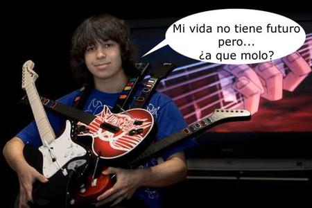 Un adolescente deja el colegio para dedicarse profesionalmente a 'Guitar Hero'
