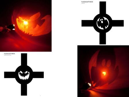 Figuras imprimibles para hacer sombras en Halloween