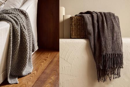 Zara Home se adelanta a las rebajas con interesantes descuentos en las mantas más cálidas para este invierno